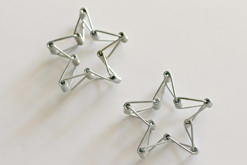 Clothespin Spring Stars 5
