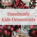 Handmade Kids Ornaments