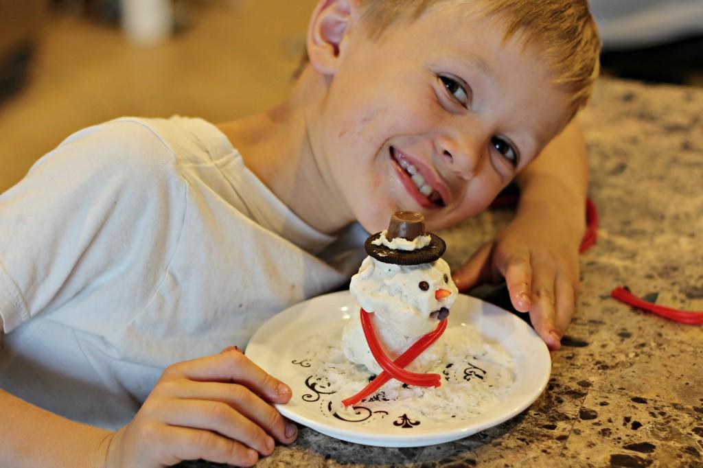 Ice Cream Snowman 14