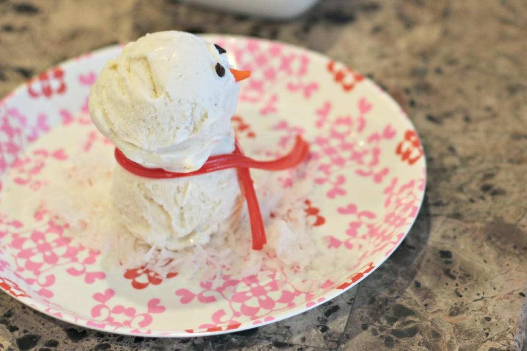 Ice Cream Snowman 4