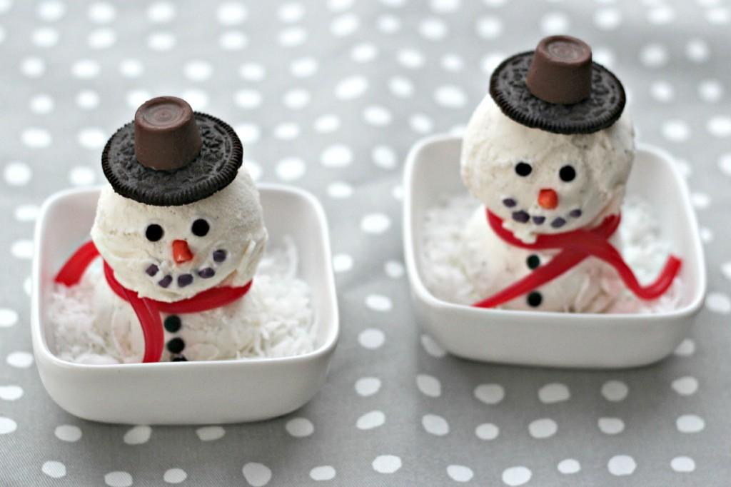 Ice Cream Snowman 8