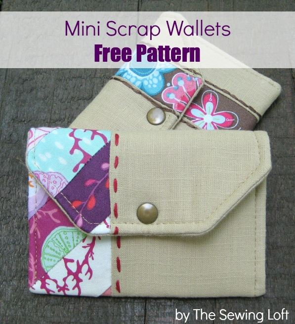 Mini Scrap Wallets