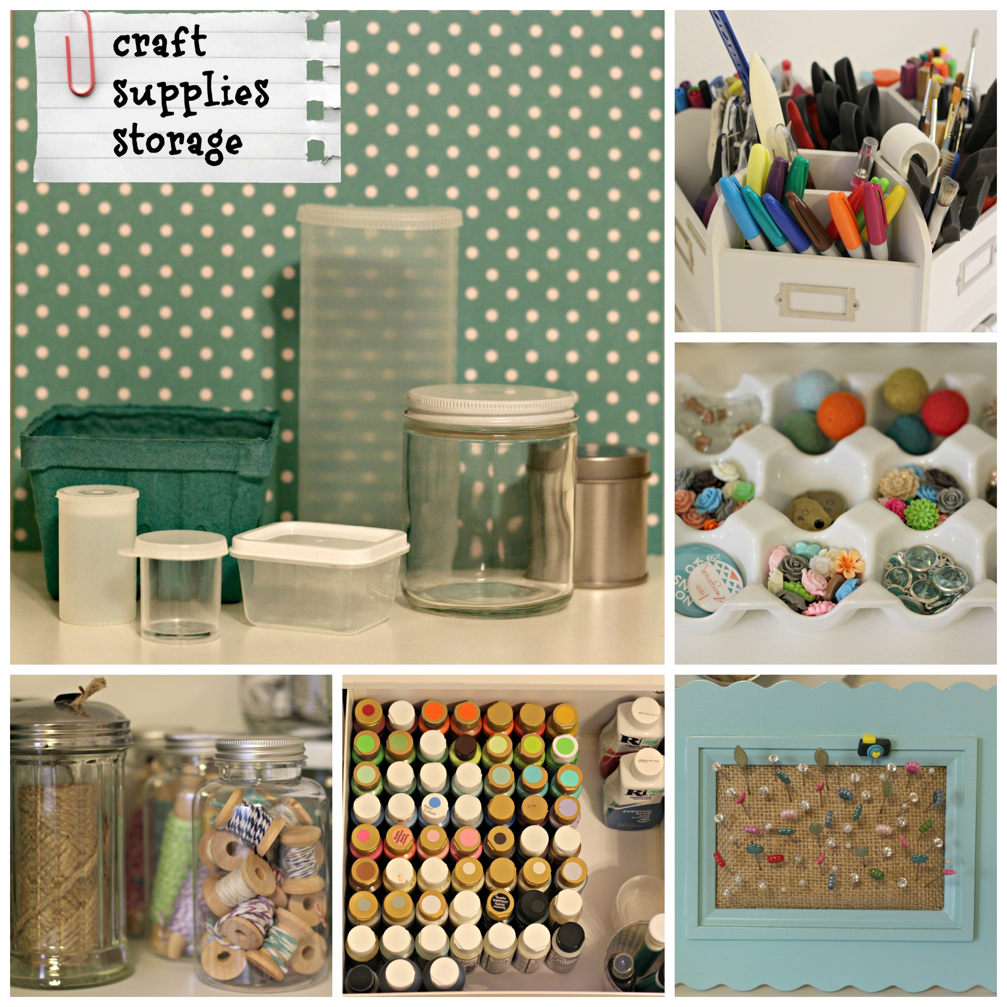 Top 10 organizing posts of 2014 organize and decorate for Craft supply organization ideas