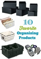 My 10 Favorite Organizing Products