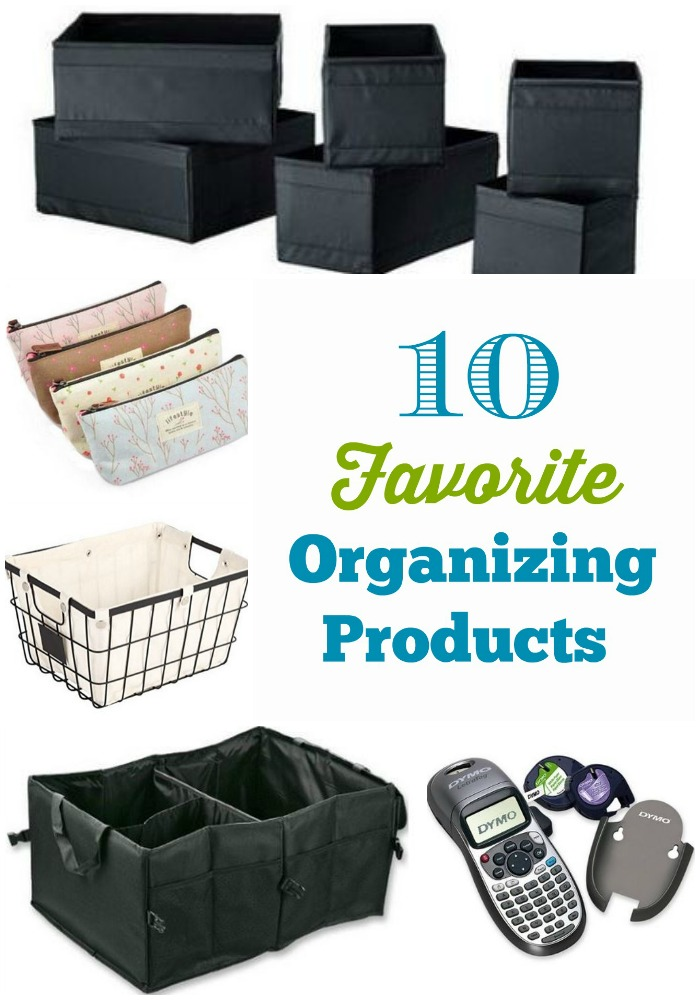 10 favorite organizing products 2