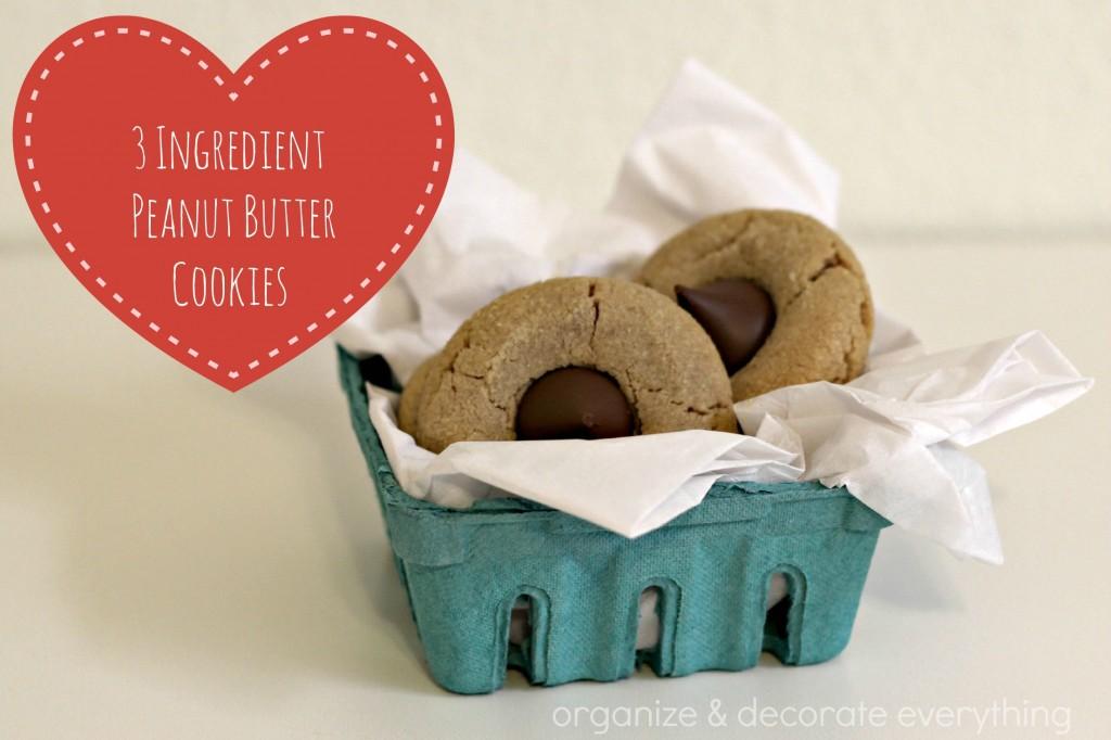3 ingredient peanut butter cookies 4.1