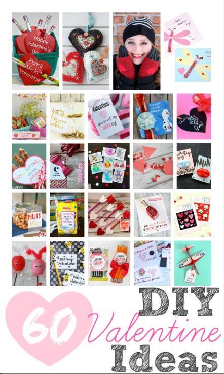 60 DIY valentines