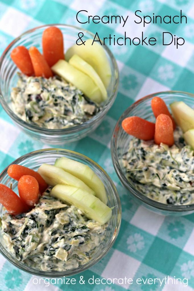 Creamy spinach & artichoke dip 2.2