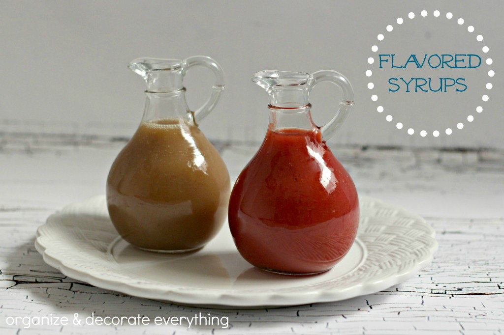 Flavored Syrups.1