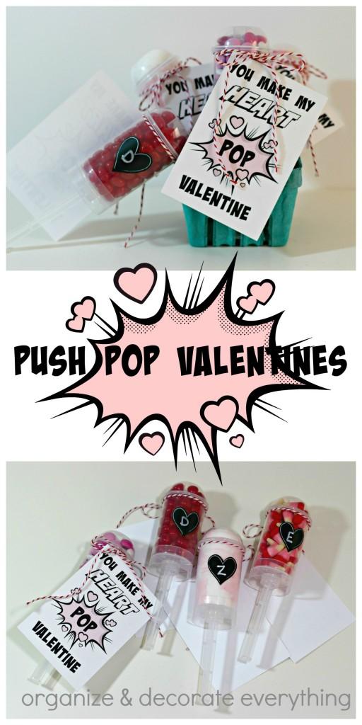 Push Pop Valentines