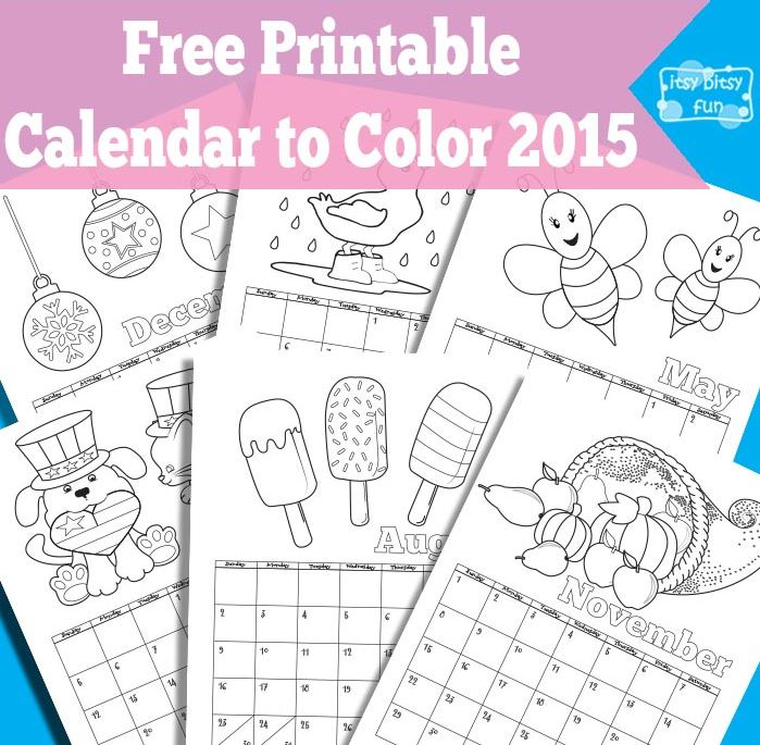 15 Free Printable Calendars For 2015 Organize And Decorate Everything