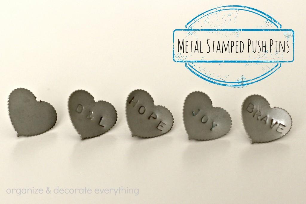 metal stamped push pins 3.1