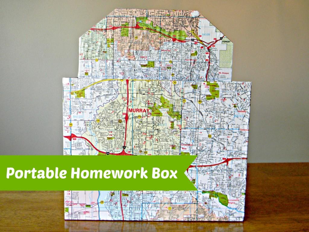 portable homework box