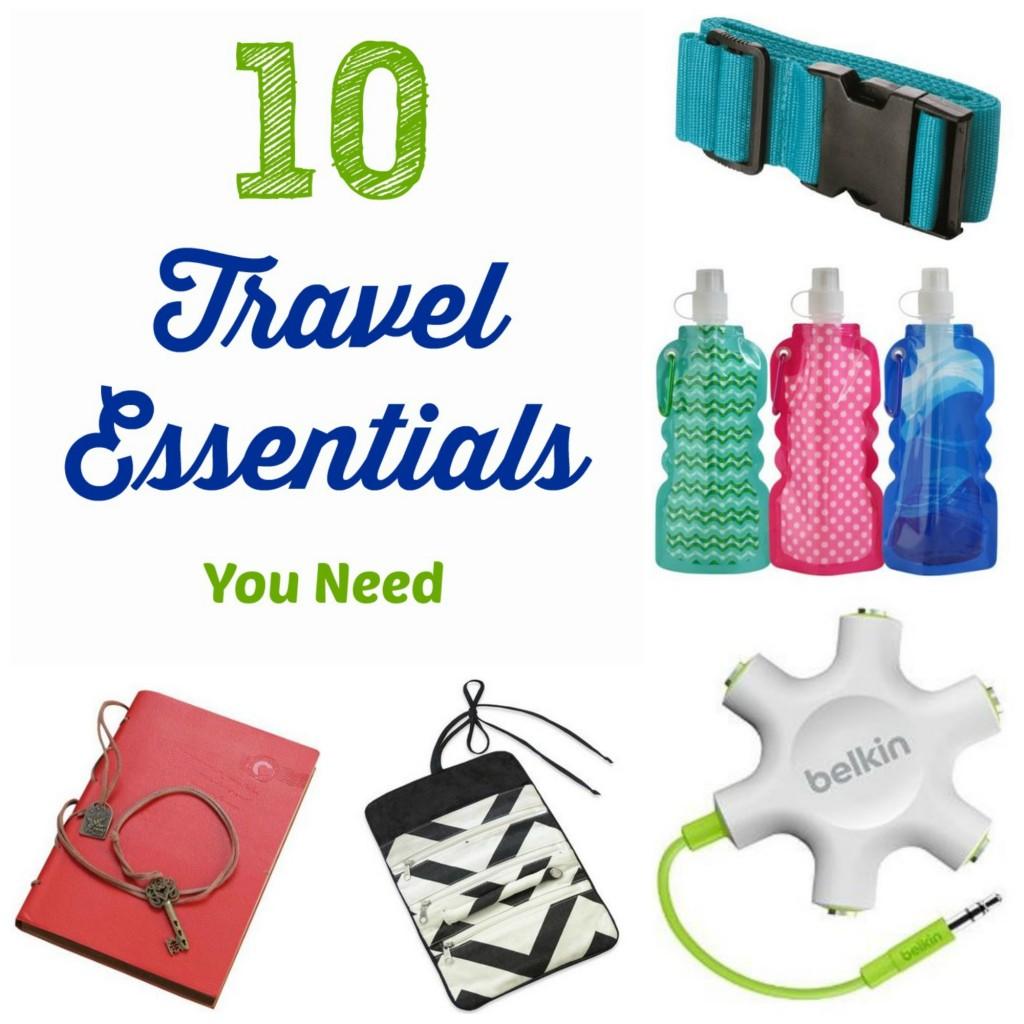 10 Travel Essentials