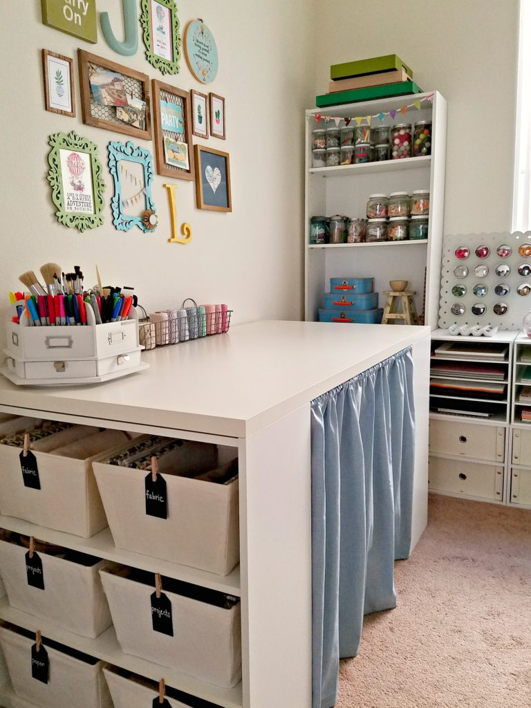 Craft Room Table space assessment