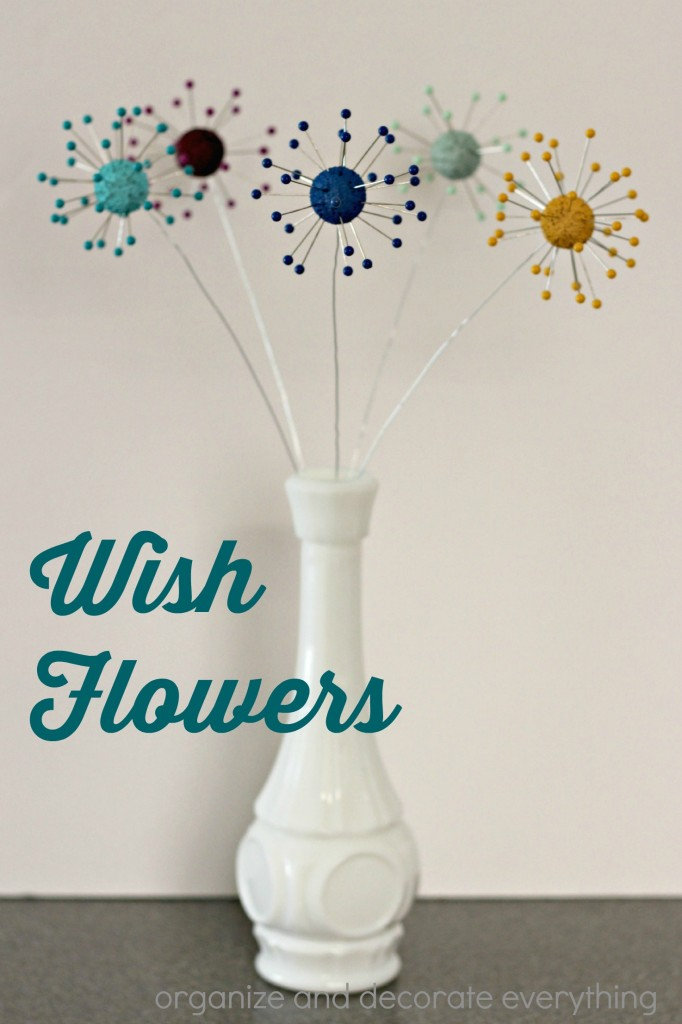 DIY Wish Flowers