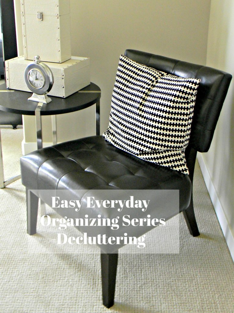 Easy Everyday Organizing Decluttering