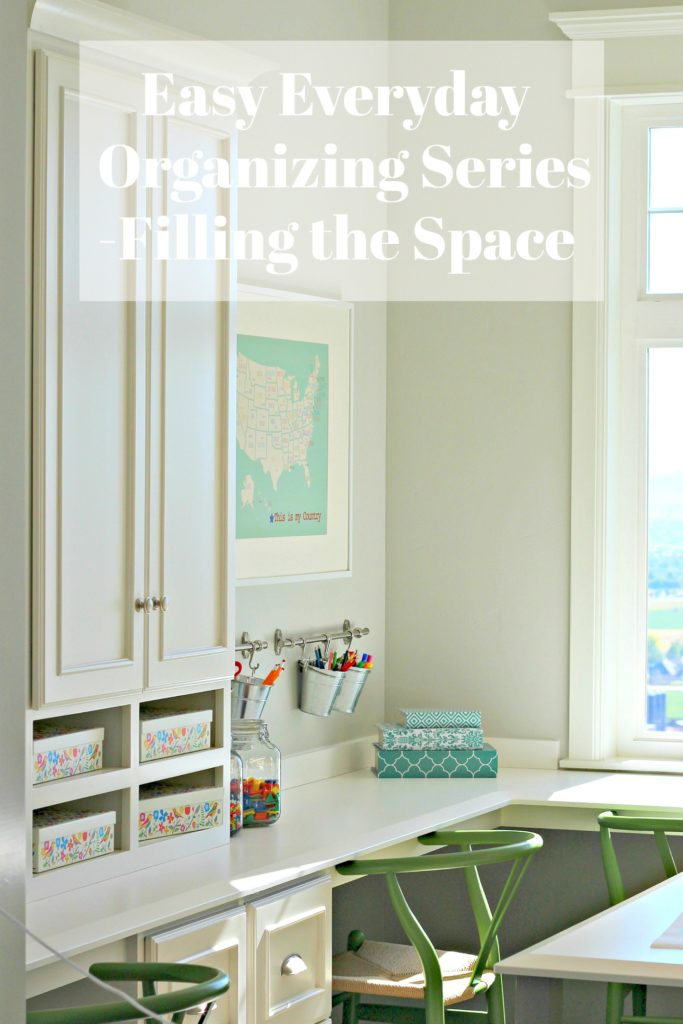 Easy Everyday Organizing Filling the Space