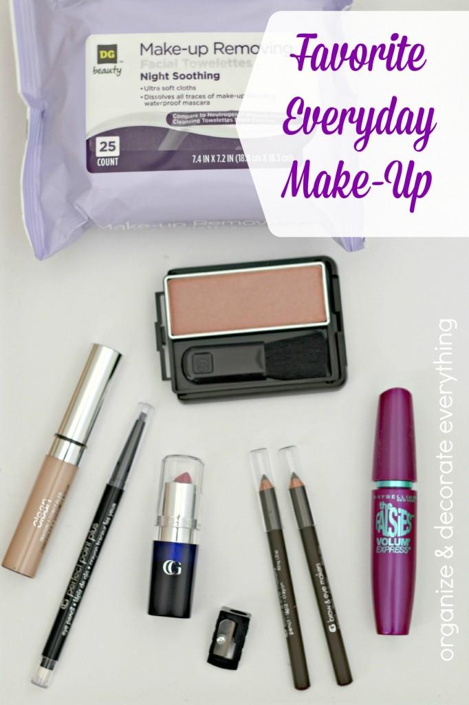 Favorite Everyday Make Up