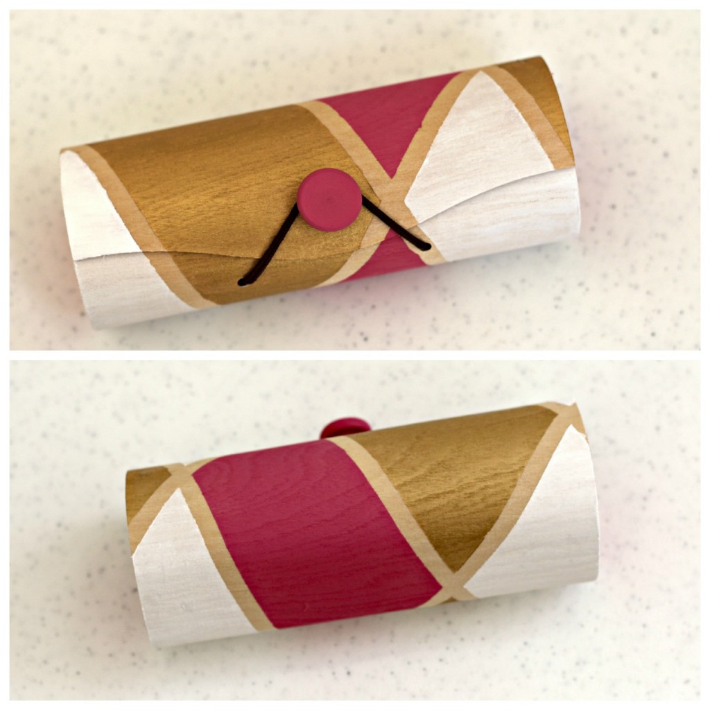 Graphic Painted Eyeglass Case 14