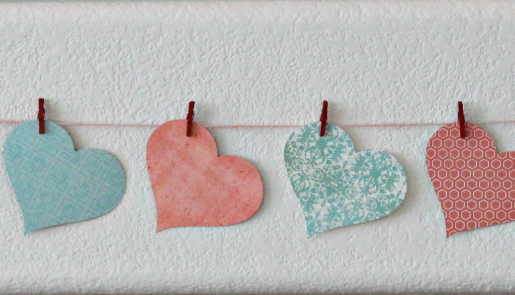 Love You Dearly Valentine's Day Mantel 8