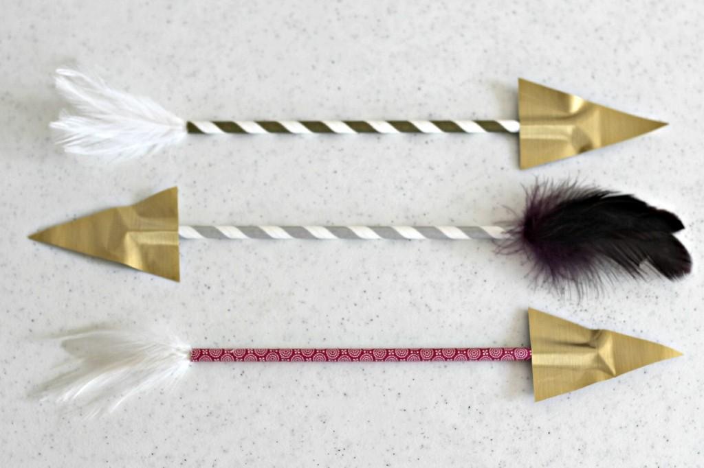 Paper Straw Arrows 2
