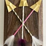 Paper Straw Arrows