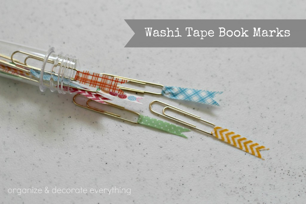 Washi Tape Book Marks 6.1