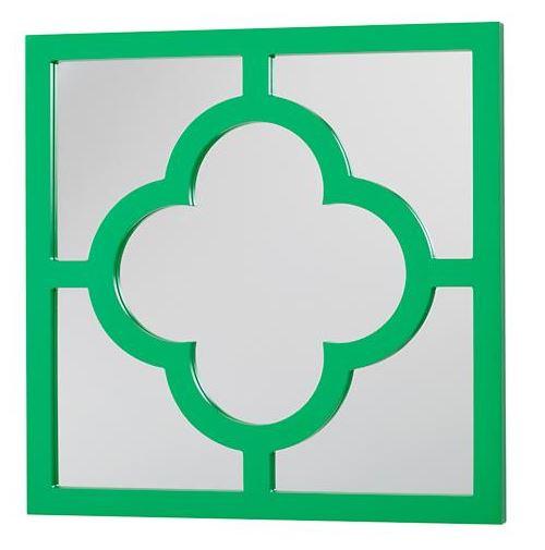 4 leaf mirror