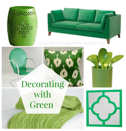 Decorating Your Home with Green