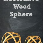 Decorative Wood Spheres