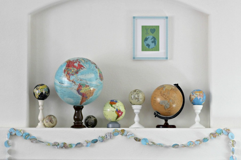 Earth Day Mantel 2