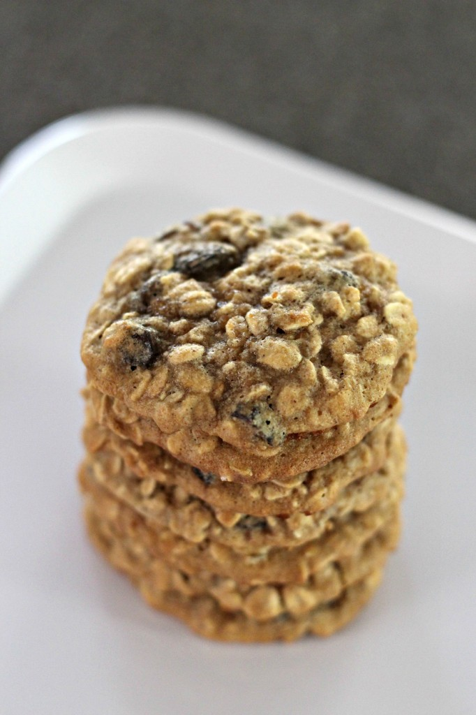 Gluten Free Oatmeal Raisin Cookies 1