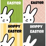 Hoppy Easter Bunny Printables