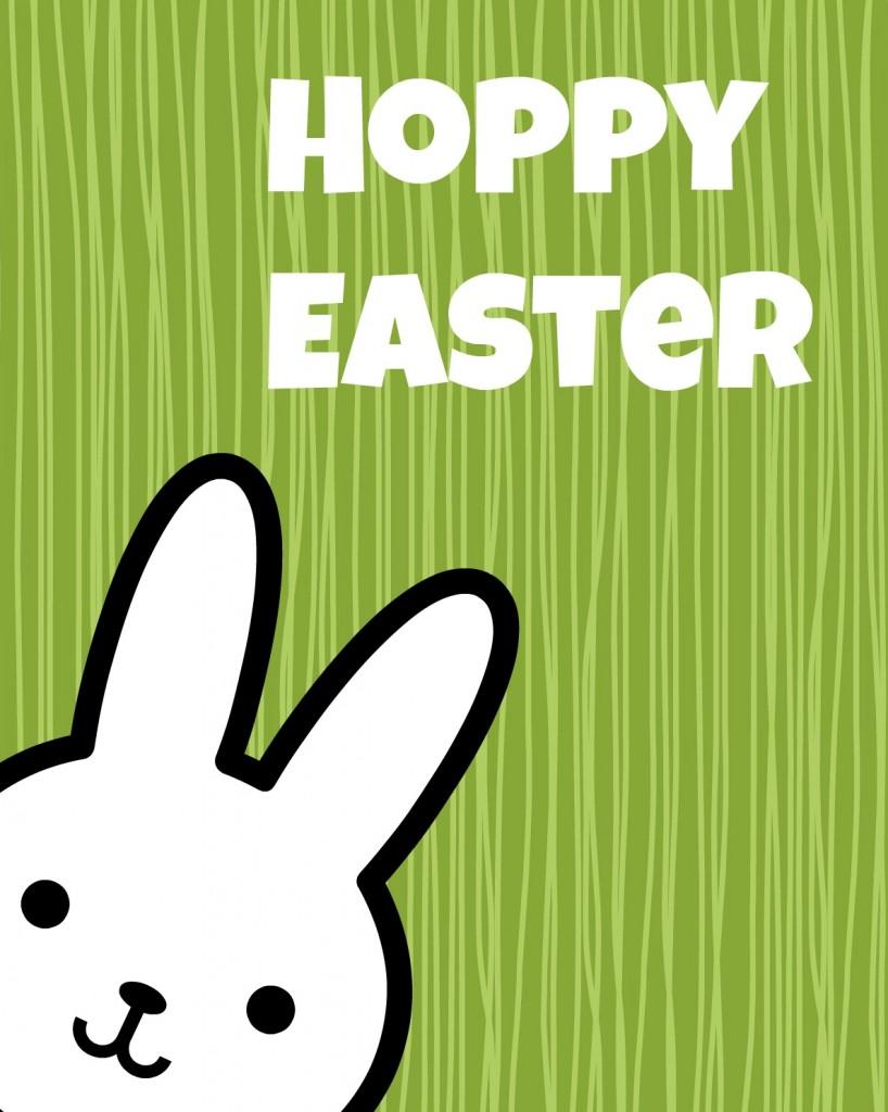 Hoppy Easter green