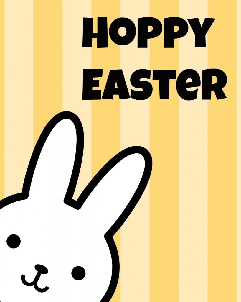 Hoppy Easter yellow