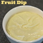 Marshmallow Cream Fruit Dip