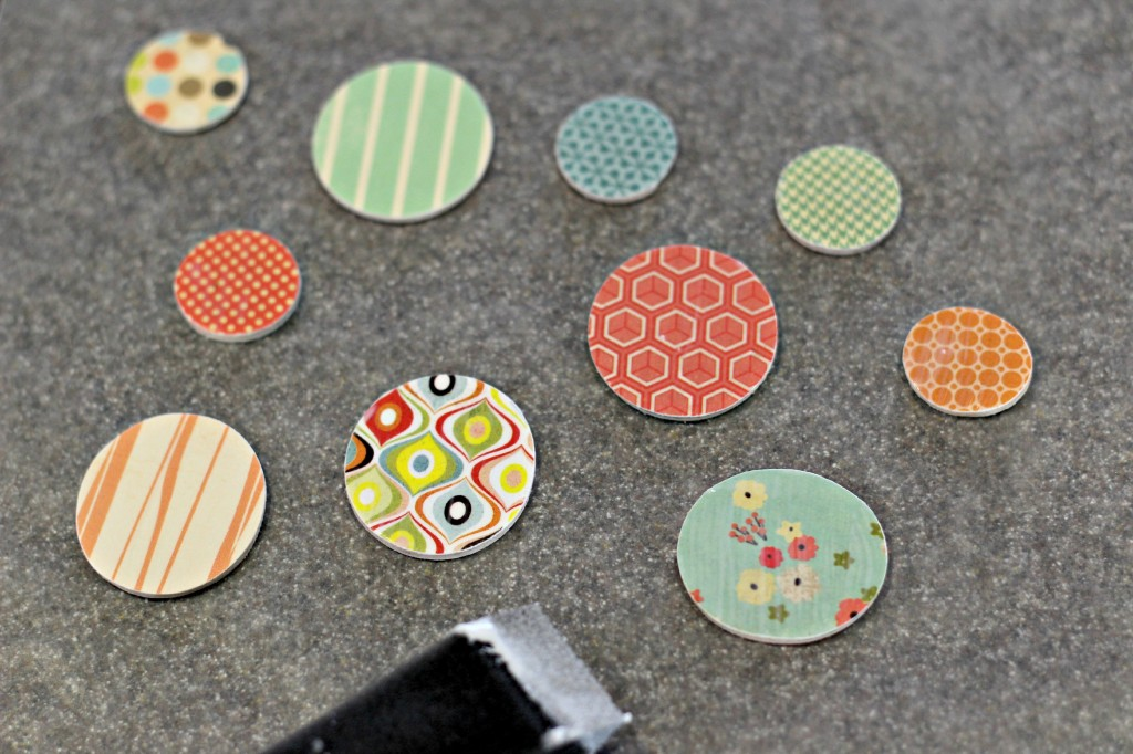 Wood Disc Magnets 4