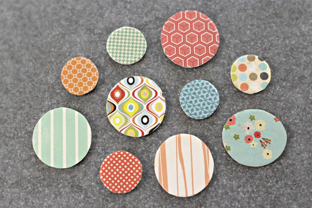 Wood Disc Magnets 6