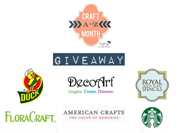 giveaway craft month
