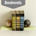 DIY Globe Bookends
