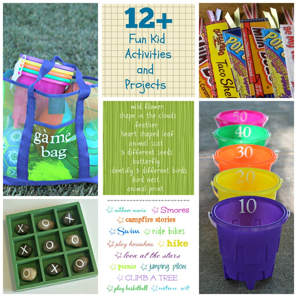 12+ Fun Kid Activities and Projects