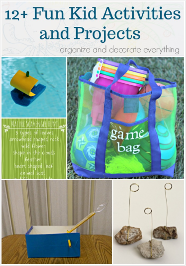 12 Kids Projects and Activities