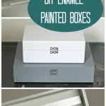 DIY Enamel Painted Boxes