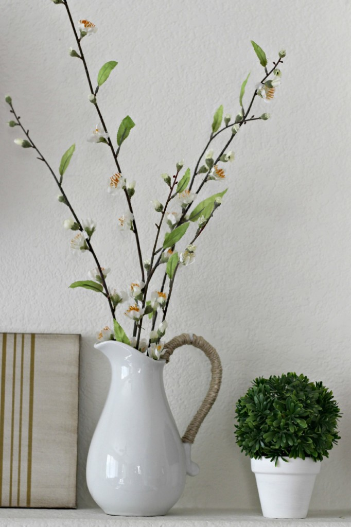 Floral Spring Mantel Greenery .7