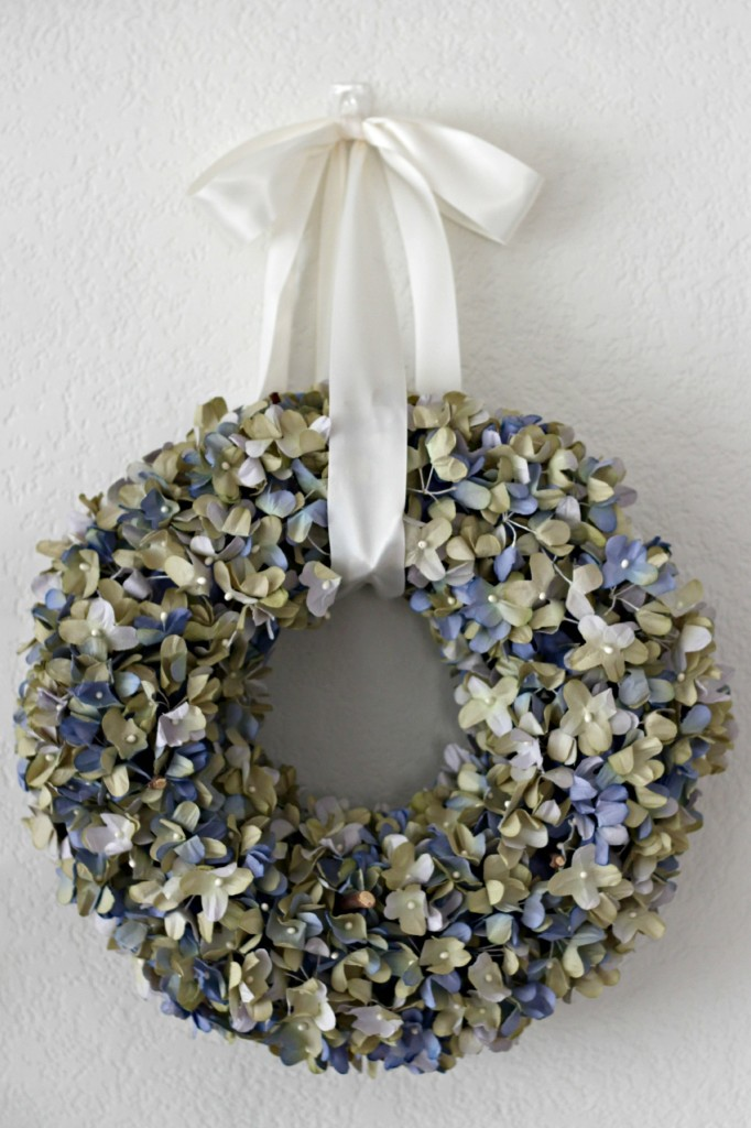 Floral Spring Mantel Wreath .5