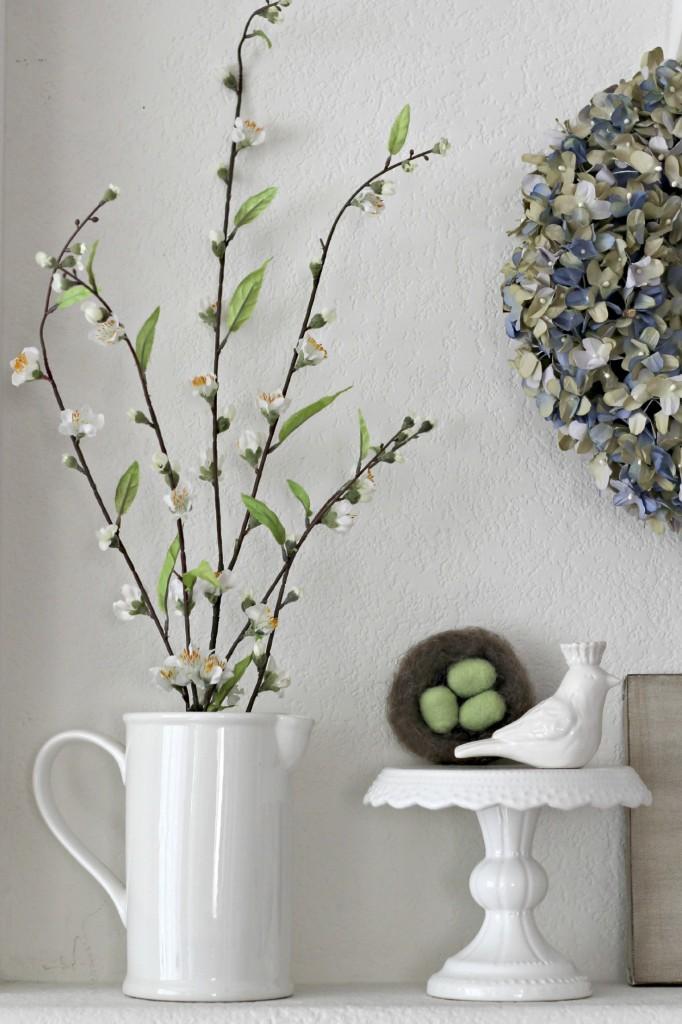 Floral Spring Mantel pitcher .6