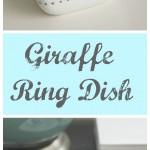 Giraffe Ring Dish