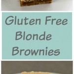 Gluten Free Blonde Brownies