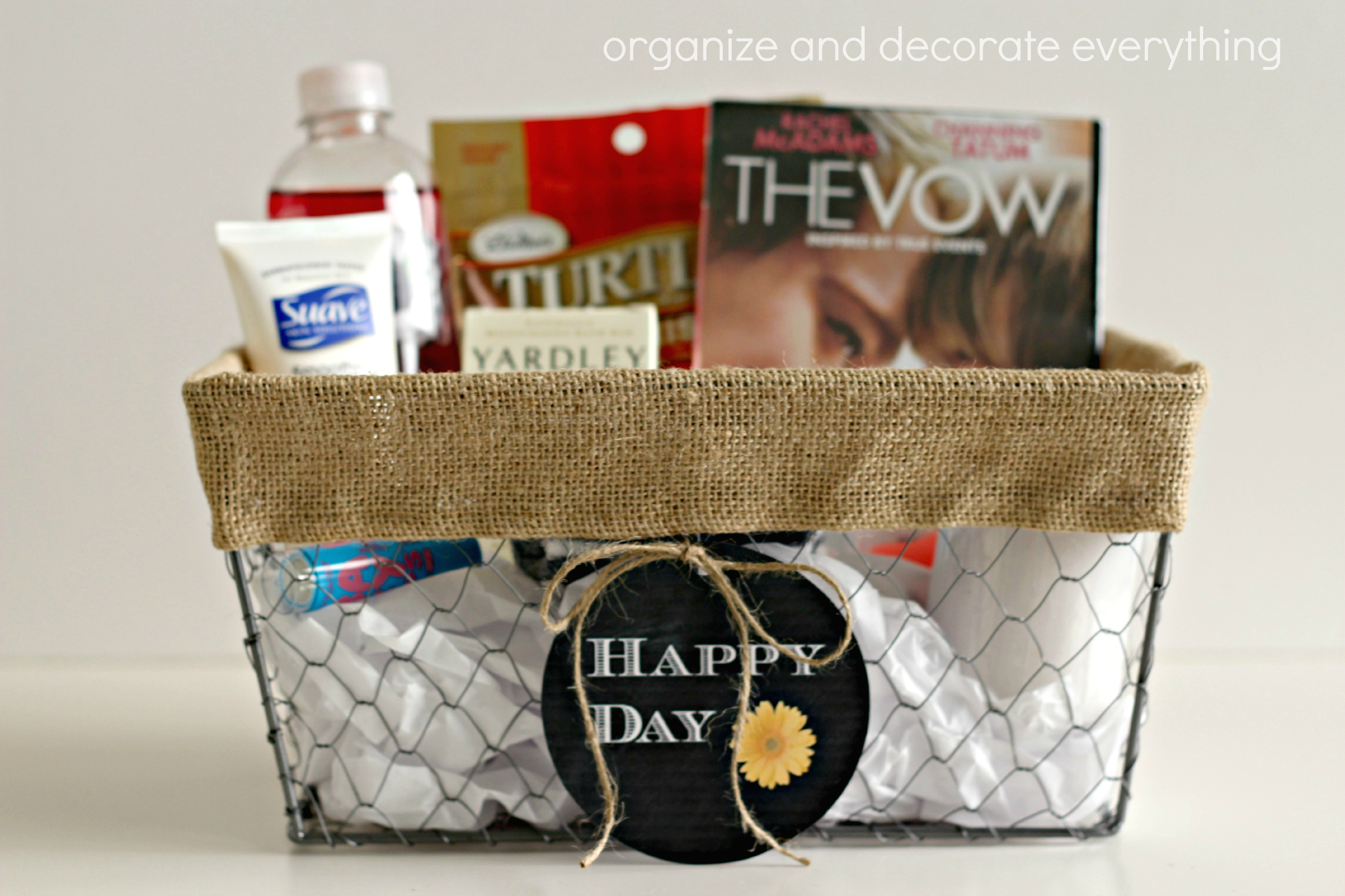 Mom Survival Basket for Mother's Day